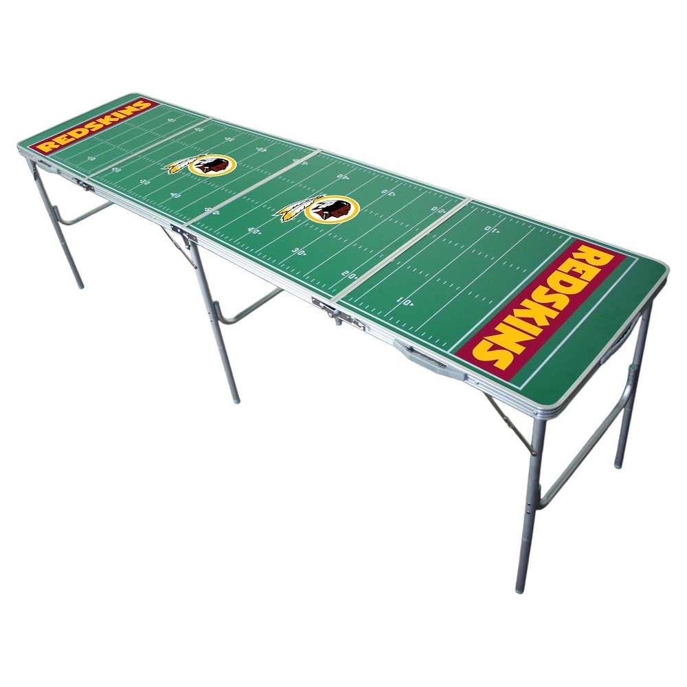 NFL Washington Redskins Tailgate Table - 2'x8', Multi-Colored