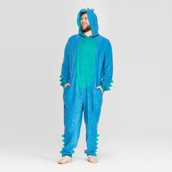 Men's Big and Tall Dinosaur Family Union Suit