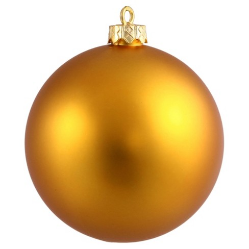 32ct Antique Gold Shiny Ball Christmas Ornament Set - image 1 of 1
