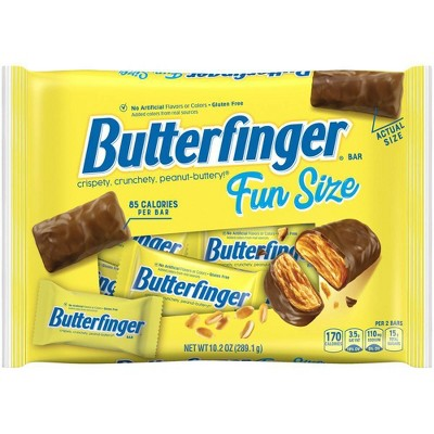 Butterfinger Fun Size Chocolate Bar 10.2oz Bag
