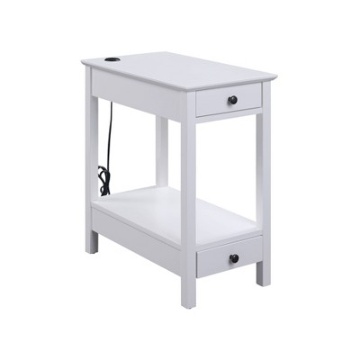 Byzad Side Table with USB Charging Dock - Acme Furniture