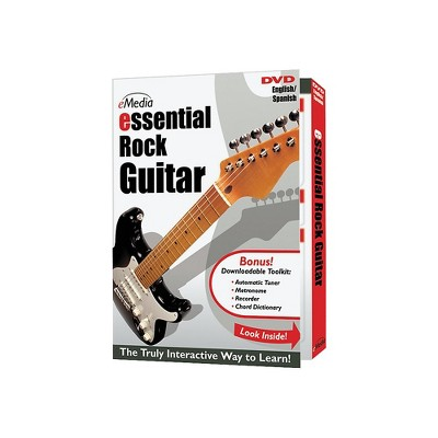 eMedia Essential Rock Guitar Instructional DVD