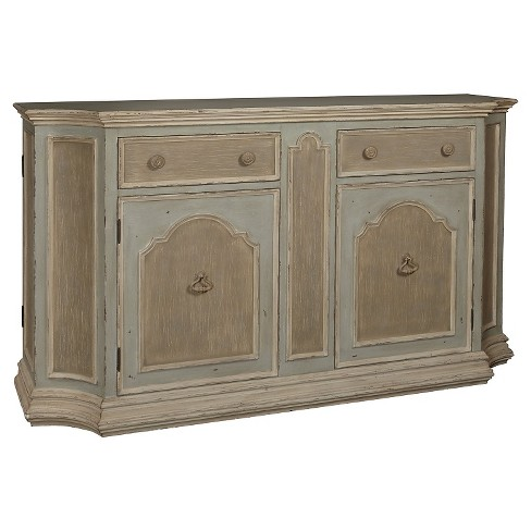 Farley Console Cabinet with Four Doors And Two Drawers - Pulaski - image 1 of 2