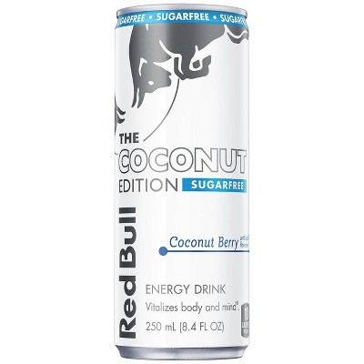 Red Bull Coconut Edition Sugarfree Energy Drink - 8.4 fl oz Can