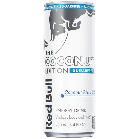 Red Bull Coconut Edition Sugarfree Energy Drink - 8.4 fl oz Can - image 1 of 1