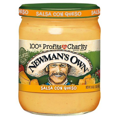 Newman's Own® Medium Salsa Con Queso 16 oz - image 1 of 1