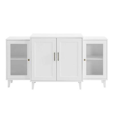 """62"""" 4 Door Tiered Modern Sideboard - Saracina Home"""