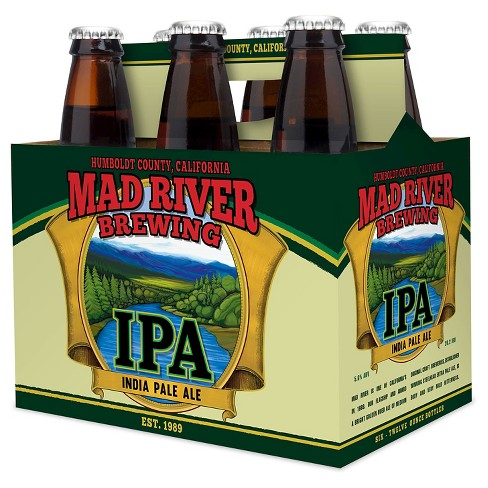 Mad River® IPA - 6pk / 12oz Bottles - image 1 of 1