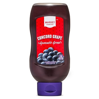 Concord Grape Squeezable Spread - 20oz - Market Pantry™