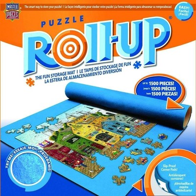 MasterPieces Inc MasterPieces Jigsaw Puzzle Roll & 8 Inch Stow Box | Fits 1500 Pieces