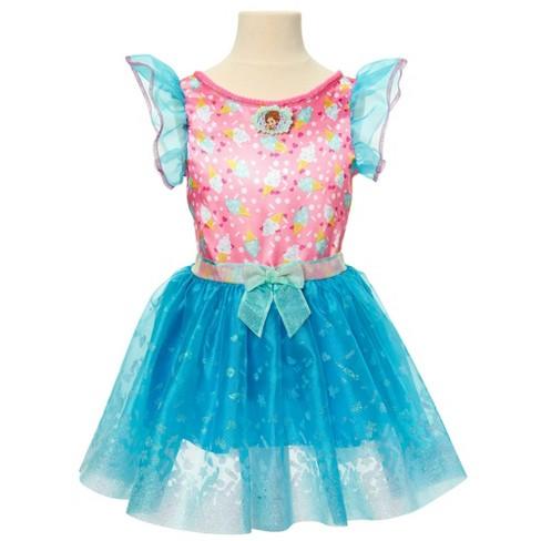 Disney Fancy Nancy Ice Cream Cart Kid's Dress - image 1 of 4