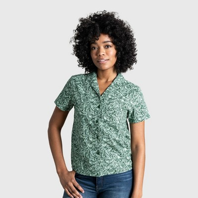 Women's United By Blue Organic Camp Shirt
