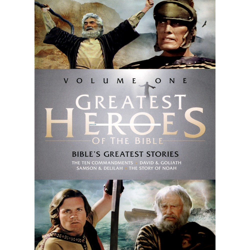 Greatest Heroes Of The Bible V 1/Bibl (Dvd)