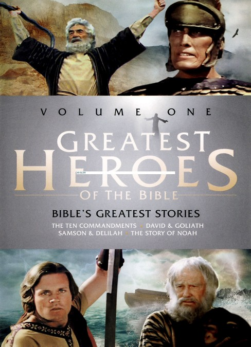 Greatest heroes of the bible v 1/Bibl (DVD) - image 1 of 1