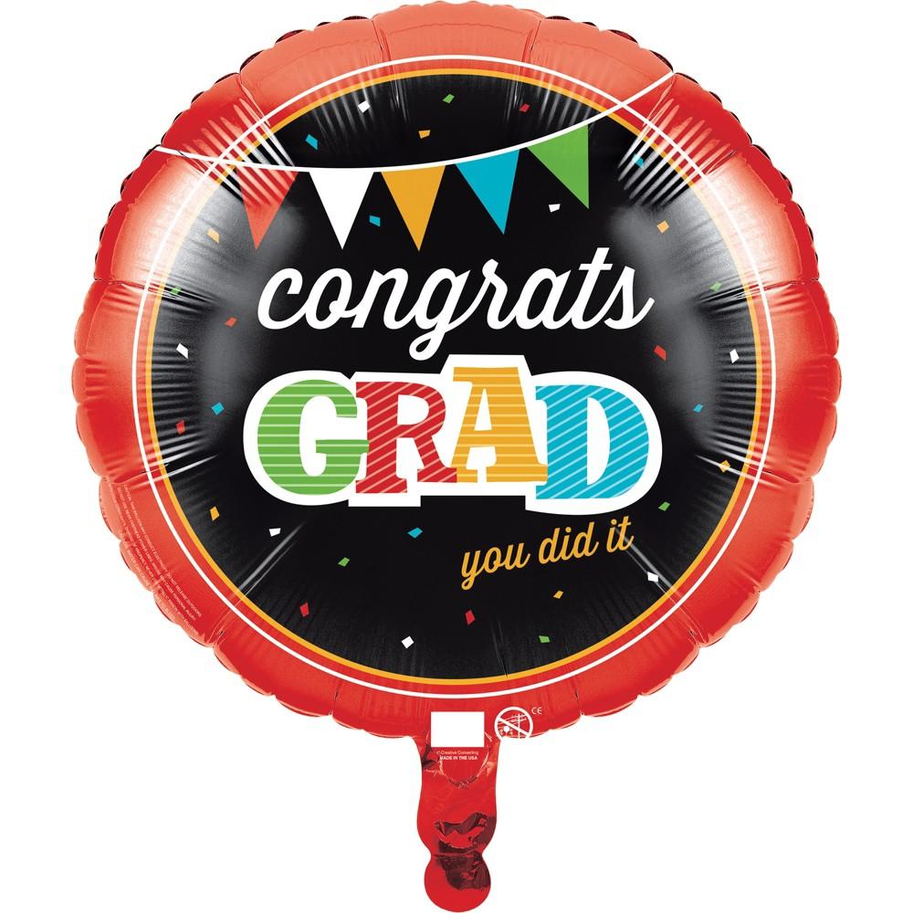 Graduation Head of the Class Mylar Balloon