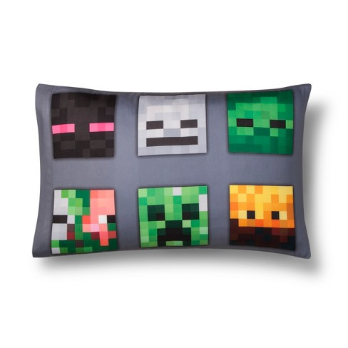 Minecraft Standard Pillow Cases - image 1 of 3