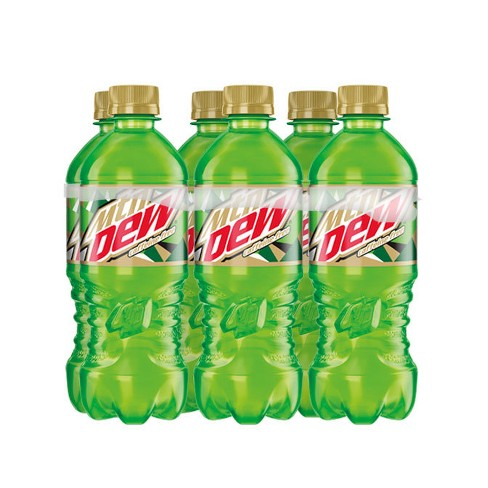 how muh caffiene is in a diet dew