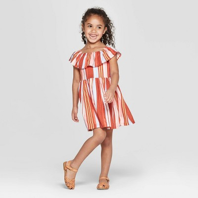 Genuine Kids® from OshKosh Toddler Girls' Striped A-Line Dress - 12M
