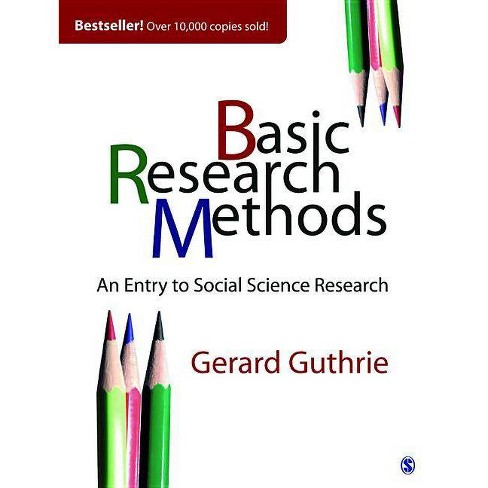 Basic Research Methods - by  Gerard Guthrie (Paperback) - image 1 of 1