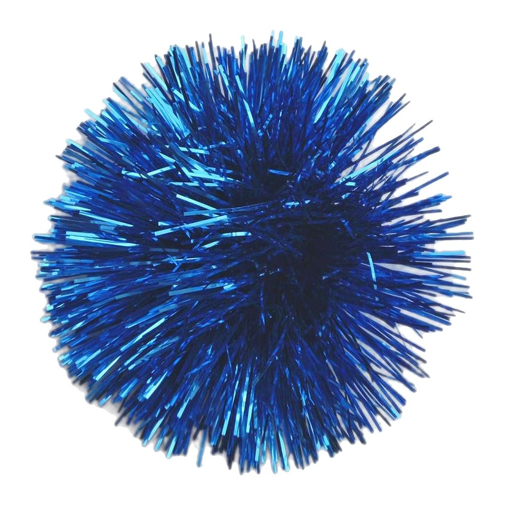 Image of Glossy Gift Pom Bow Royal Blue - Spritz