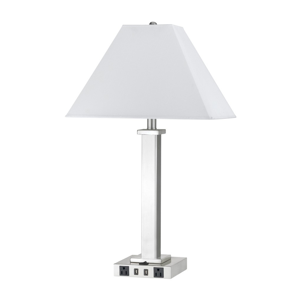 Image of 100W Metal Night Stand Lamp - Cal Lighting