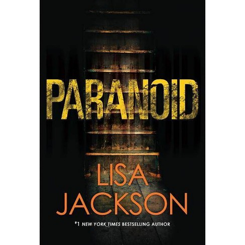 Paranoid -  by Lisa Jackson (Hardcover) - image 1 of 1