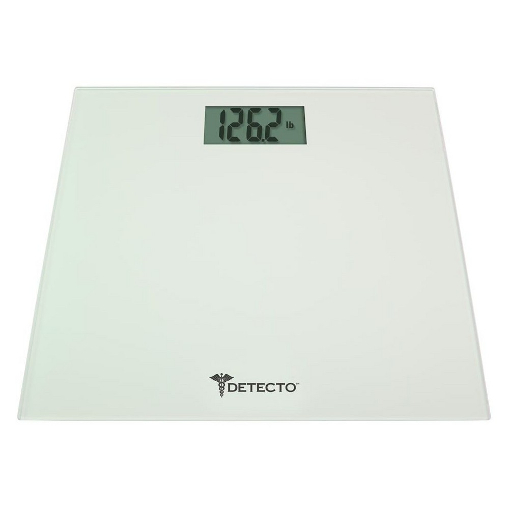 Image of LCD Digital Personal Scale White - Detecto
