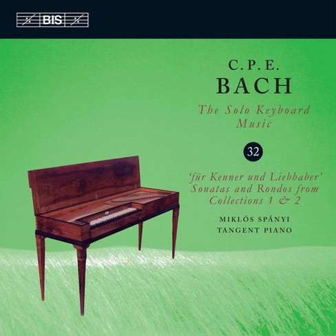Miklos Spanyi - Bach:Solo Keyboard Music Vol 32 (CD) - image 1 of 1