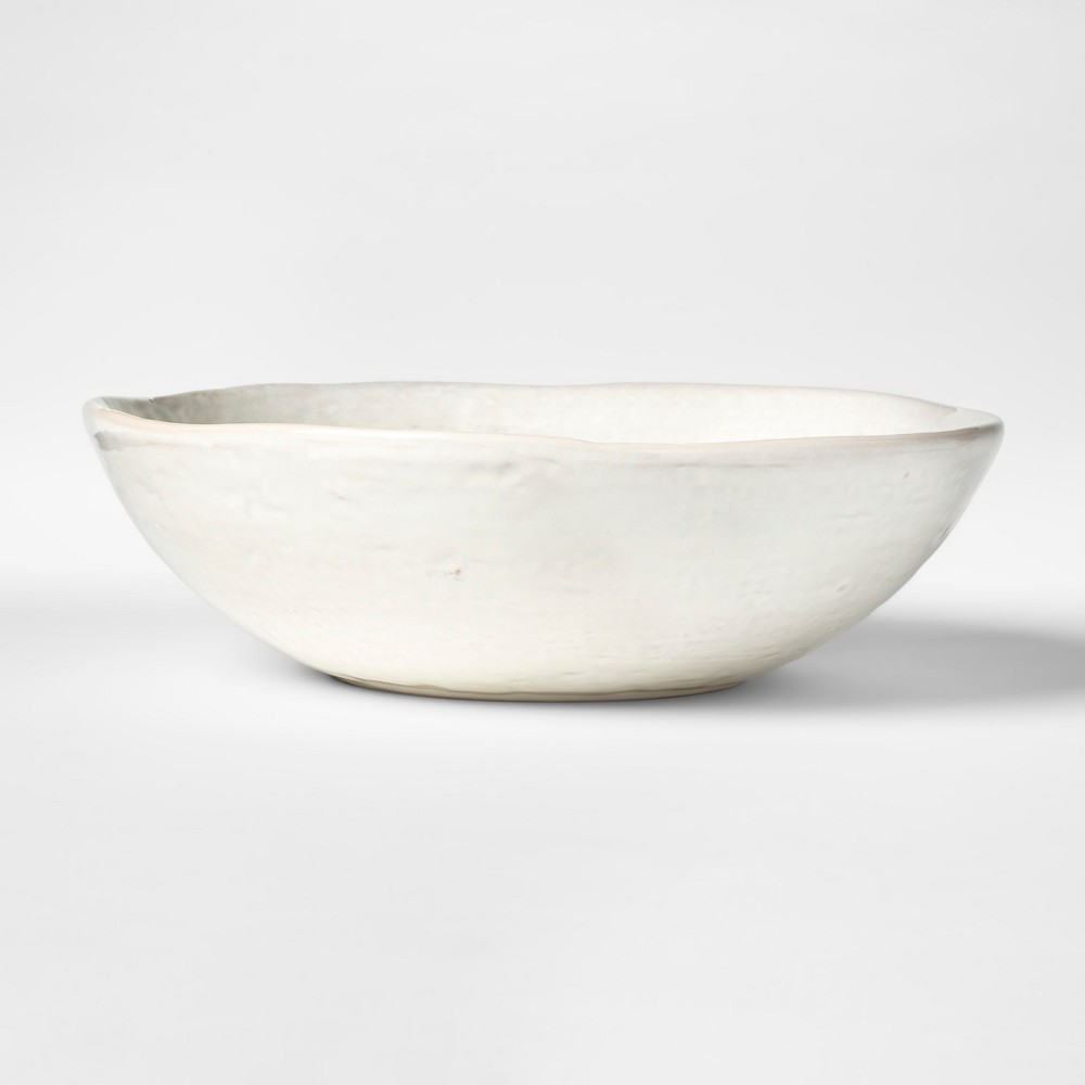 Cravings by Chrissy Teigen 10.5 Stoneware Serving Bowl White