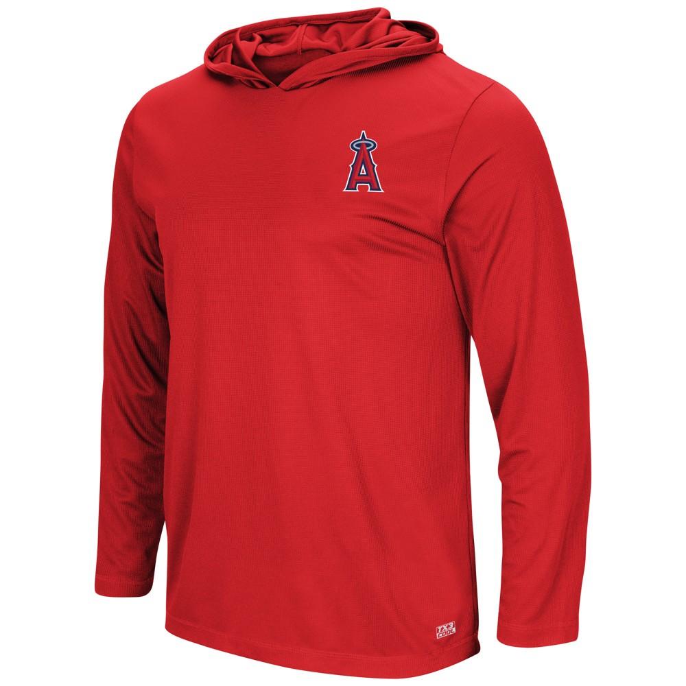 Los Angeles Angels Men's Lightweight Pullover Logo Hoodie - M
