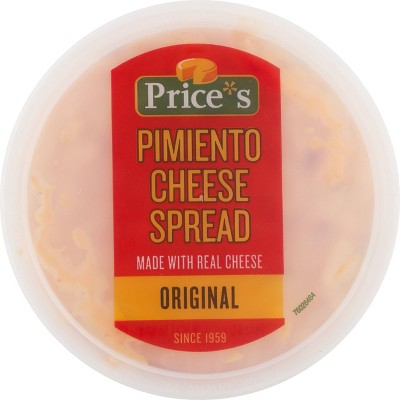 Price's Original Pimento Cheese Spread - 12oz