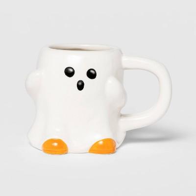 6oz Earthenware Mini Ghost Halloween Mug - Hyde & EEK! Boutique™