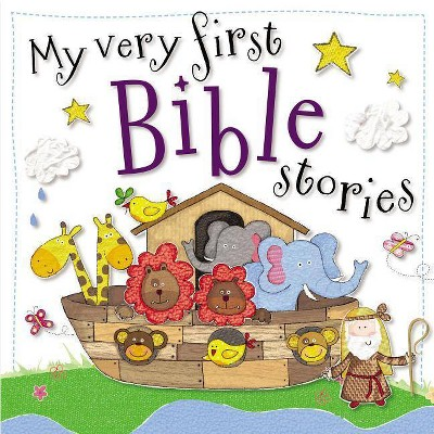 My Very First Bible Stories - by Gabrielle Mercer (Board_book)