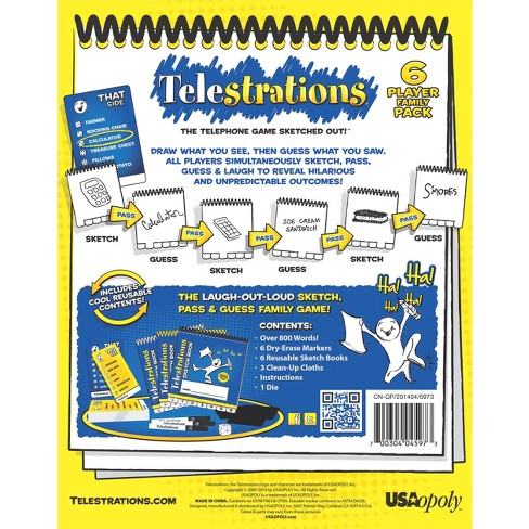 Telestrations Board Game Target