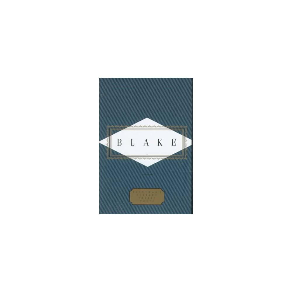 Blake : Poems - (Everyman's Library Pocket Poets) by William Blake (Hardcover)