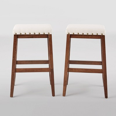 Set of 2 Greely Farmhouse Barstools - Christopher Knight Home