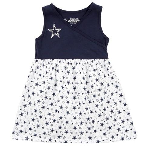 Dallas Cowboys Toddler Dress - Amelia 3T - image 1 of 1