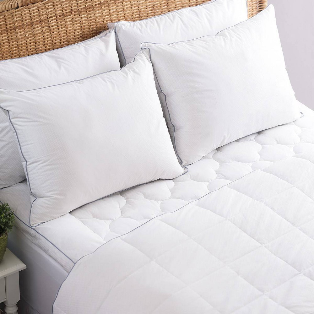 Image of Allied Home Full/Queen PerfectCool Thermoregulating Blanket White