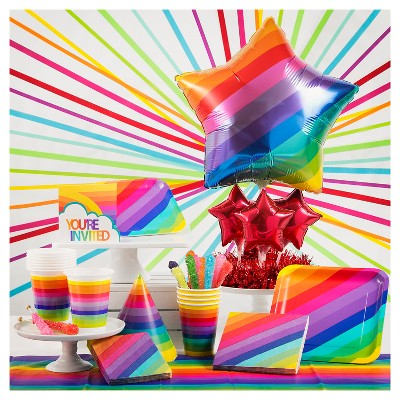 Rainbow Party Supplies Collection