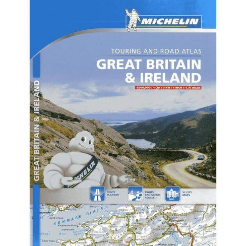 Michelin Great Britain & Ireland - (Michelin Great Britain & Ireland Atlas) (Paperback) - image 1 of 1