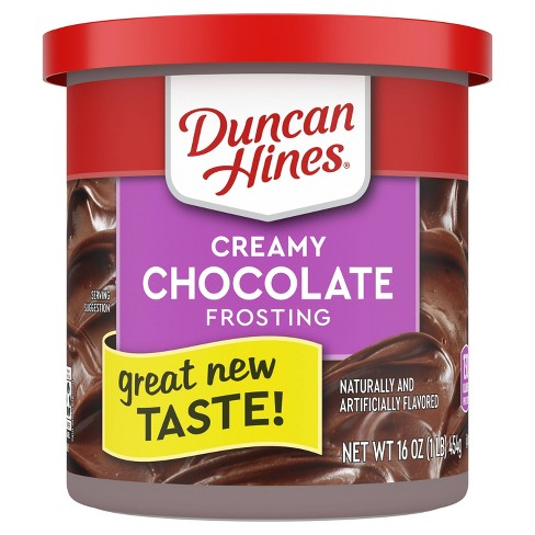 Duncan Hines Chocolate Frosting - 16oz - image 1 of 4