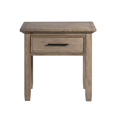 Night Stand Designs : Woodland drawer small nightstand birch white john boyd designs