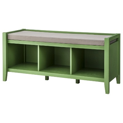 Cool Open Storage Bench Wood Threshold Dailytribune Chair Design For Home Dailytribuneorg
