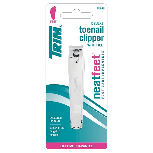 Trim Neat Feet Deluxe Toenail Clipper with File - image 1 of 2