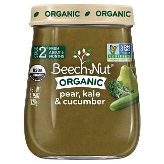 Beech-Nut Pear, Kale & Cucumber Stage 2, 4.25oz