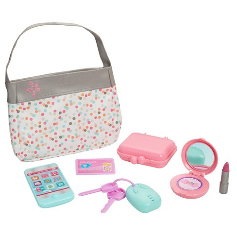 Perfectly Cute Just Like Mommy Purse with Accessories - image 1 of 4