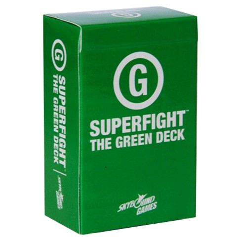Superfight: Green (Family) Deck Game - image 1 of 4