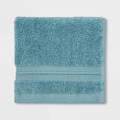 Spa Washcloth Aqua- Threshold Signature™