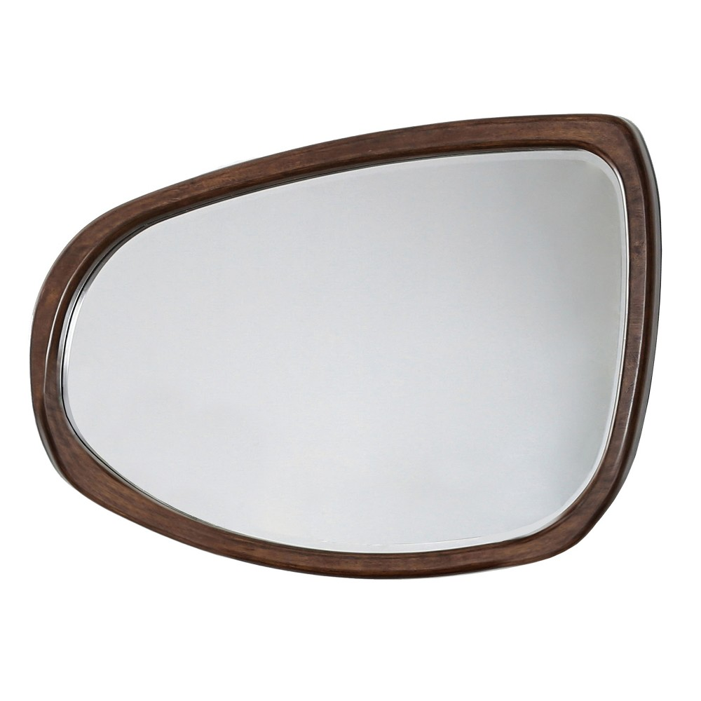 Image of Jerrenna Decorative Wall Mirror Dark Oak - ioHOMES