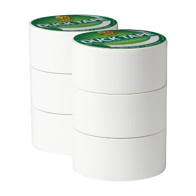 "Duck 1.88""x20yd 6pk Duct Tape White"